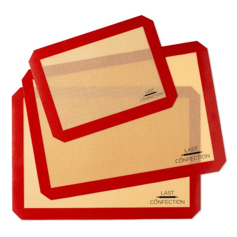 Silicone Baking Mats, Non-Stick Baking Sheet Liners - Last Confection