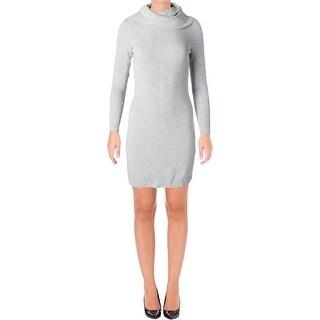 Lauren Ralph Lauren Womens Normetta Sweaterdress Long Sleeves Funnel Neck