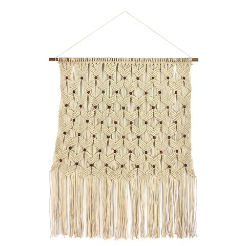"Brewster FWAX9202A Habitat Addison 79"" x 40"" Macrame Cotton Wall Hanging Tapestry -"