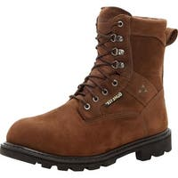 "Rocky Work Boots Mens 9"" Ranger Steel Toe GTX WP Brown"