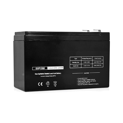 Replacement AGM SLA Battery 12V-8Ah (Single Pack) Replacement AGM SLA Battery