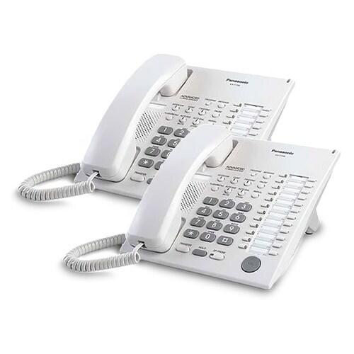 Panasonic-KX-T7720-White (2 Pack) Speakerphone Telephone