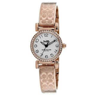 Coach Women's Madison 14502871 Silver Dial watch