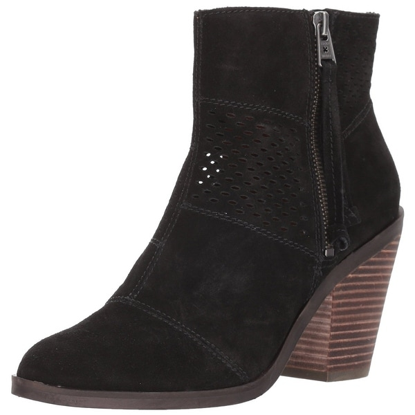 Lucky Brand Womens Ramses Leather Closed Toe Ankle Fashion Boots