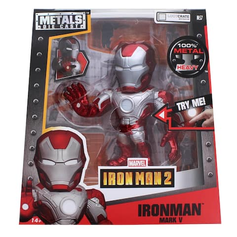 Marvel Iron Man 2 Metals Die Cast Figure