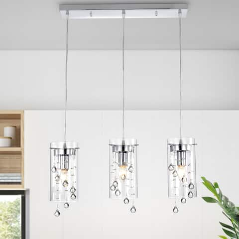 Parnassus 3-Light Kitchen Island Cylinder Pendant