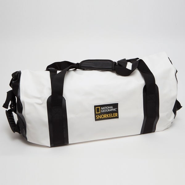 Natl Geographic Mariana Trench Dry Bag 35 Liter Black/White