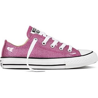 Converse Girls Chuck Taylor All Star Oxford, Bright Violet/Natural White