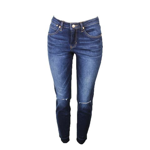 Jag Jeans Midnight Blue Rochelle Ankle Capital Denim Jeans