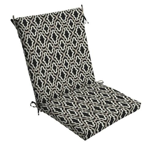 Arden Selections DriWeave Amalfi Trellis Outdoor Chair Cushion - 44 in L x 20 in W x 3.5 in H