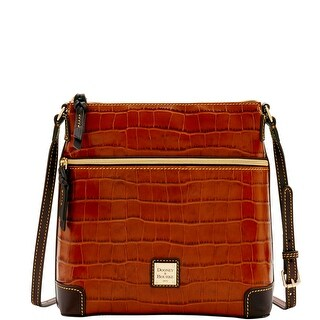 Dooney & Bourke Croco Crossbody (Introduced by Dooney & Bourke at $198 in Jul 2016) - Tan