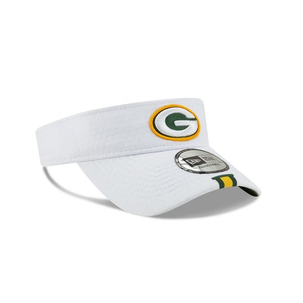 new style 466e5 44ef8 Shop Green Bay Packers Official NFL Training Visor - Free ...