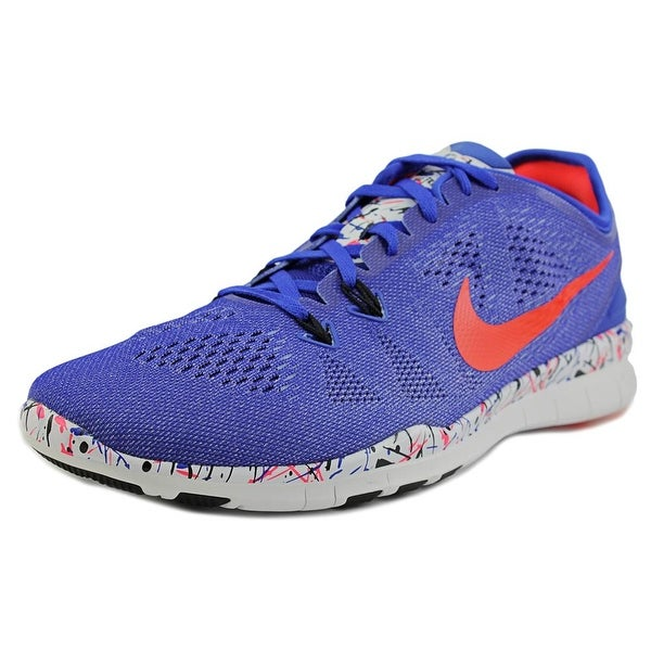 Nike Free 5.0 Tr Fit 5 Prt Round Toe Synthetic Running Shoe