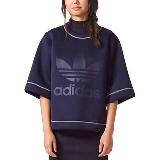 adidas Originals Womens Sweatshirt Fitness Yoga - L