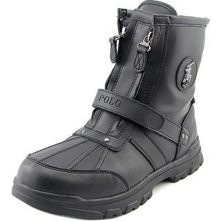 Polo Ralph Lauren Conquered Hi Round Toe Leather Boot