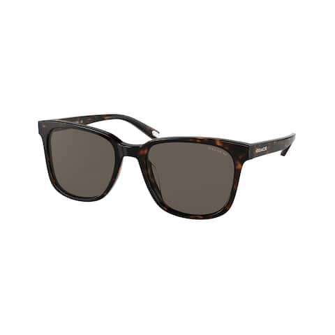 Coach HC8313U 51203 54 Dark Tortoise Man Pillow Sunglasses