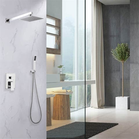 Pressure-Balanced Shower Faucet with Rough-in Valve