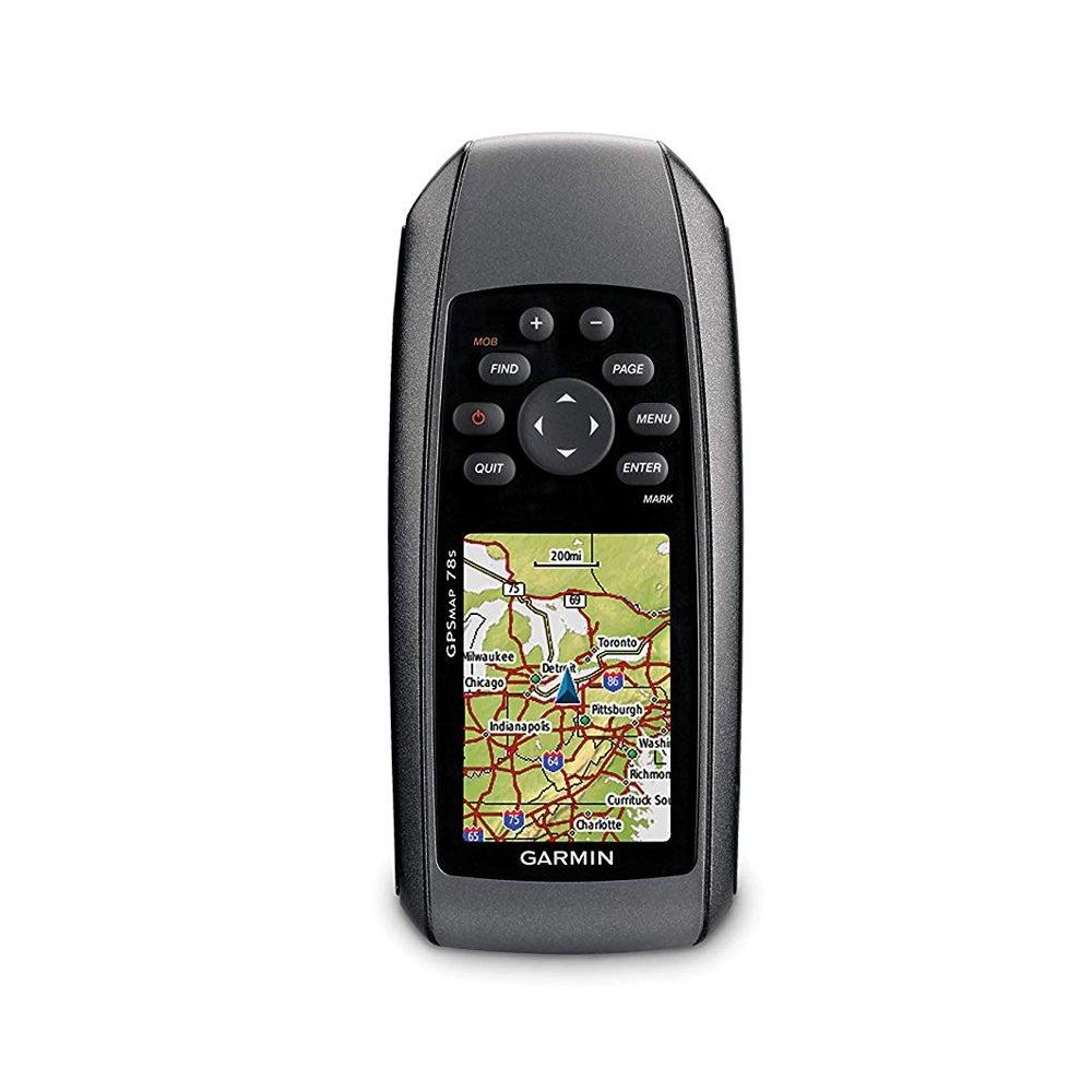 Refurbished Garmin GPSMAP 78s GPS Handheld Receiver w/ 2.6 Inch Backlit Display – Black