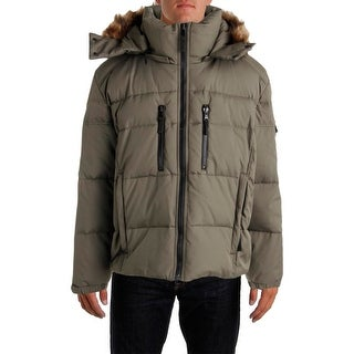 S13/NYC Mens Tundra Quilted Duck Down Parka - XXL