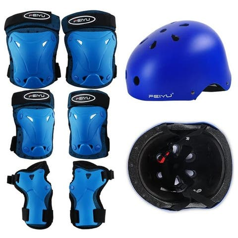 NewAge Cycling & Biking & Skating Helmets for Kids Youth Adjustable Sports Protective Gear Set