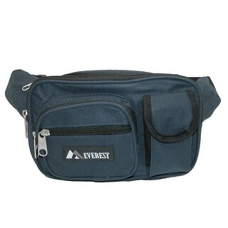 Everest Fabric Multiple Pockets Waist Pack (3 options available)