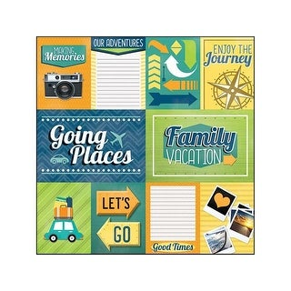 Paper House Paper 12x12 Family Vacation Tags