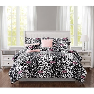 Link to Juicy Couture Ombre Leopard 6-Piece Reversible Set, King Similar Items in Comforter Sets