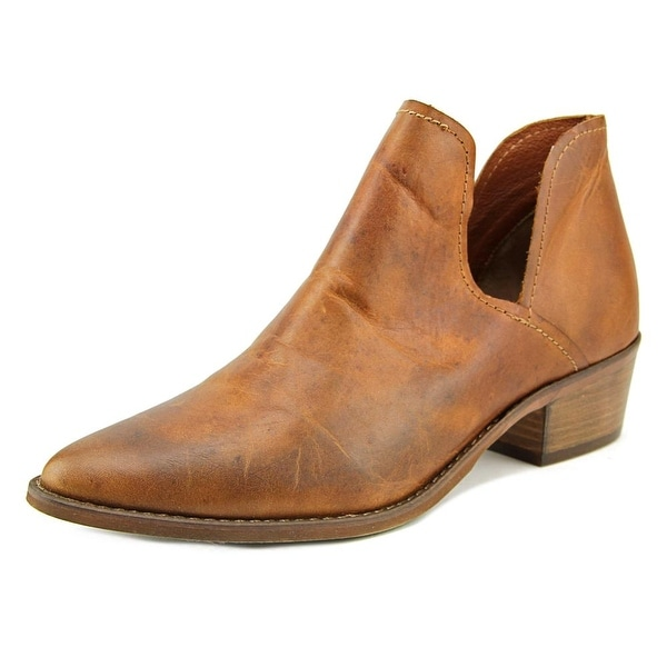 a09c774c0cc Shop Steve Madden Austin Women Round Toe Leather Bootie - Free ...