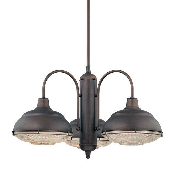 Millennium Lighting 5333 Neo-Industrial 3-Light Single Tier Chandelier - N/A