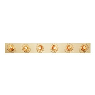 "Trans Globe Lighting 3006 Six Light 36"" Wide Bath Bar"