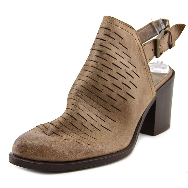 Steve Madden Patrize Women Pointed Toe Leather Tan Bootie