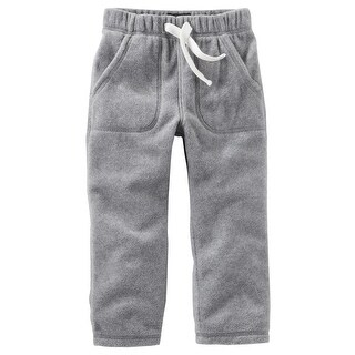 OshKosh B'gosh Baby Boys' MVP Fleece Pants, Heather, 9 Months