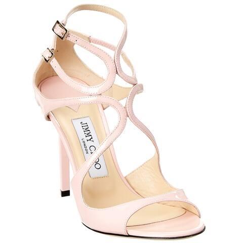 Jimmy Choo Lang 100 Patent Sandal