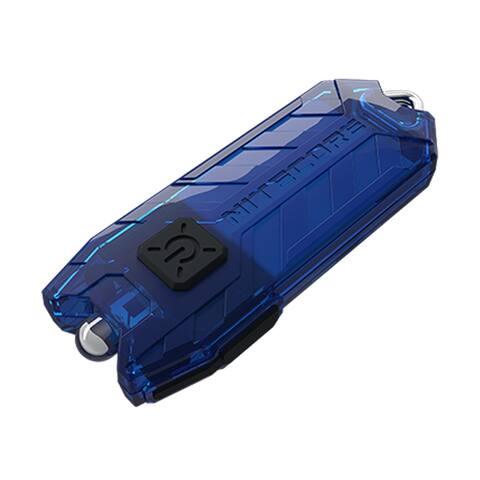 NITECORE TUBE v2.0 55 Lumen USB Rechargeable Keychain Flashlight (Blue)