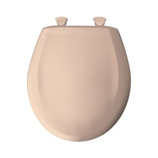 Bemis 200SLOWT Round Closed-Front Toilet Seat and Lid with Whisper-Close?, Easy-Clean & Change?, and STA-TITE? Seat Fastening