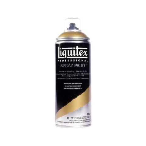 Liquitex / colart 4450237 liquitex art spray 400ml iridescent antique gold