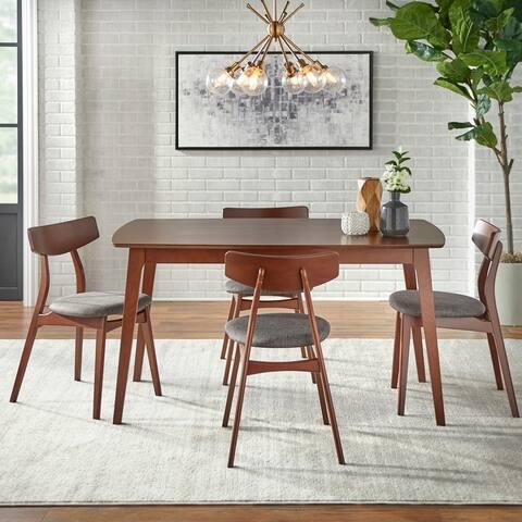 Simple Living Solid Beechwood Cadiz 5-piece Dining Set