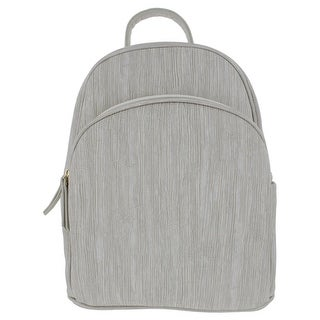 Moda Luxe Womens Kenna Backpack Faux Leather Textured