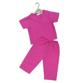 Princess Linens Hot Pink Scrubs Halloween Costume Toddler Girls 6M-4T