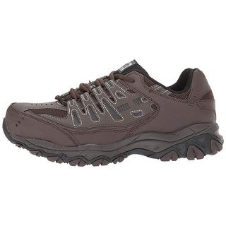 Skechers Mens Crankton Steel toe Lace Up Safety Shoes - 7