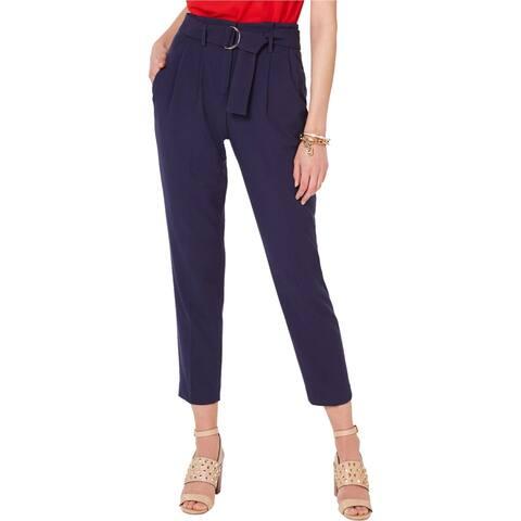 Michael Kors Womens Pleated Casual Trouser Pants