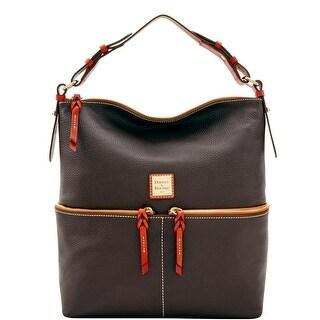 Dooney & Bourke Pebble Grain Zipper Pocket Sac Shoulder Bag (Introduced by Dooney & Bourke at $268 in Jun 2017)