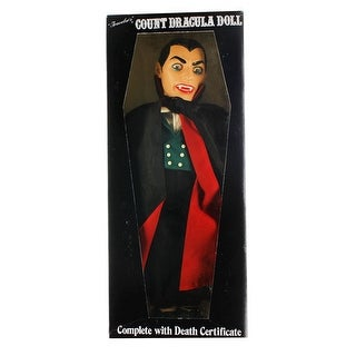 Traveler's Count Dracula Vintage Collector Doll (1985) - multi