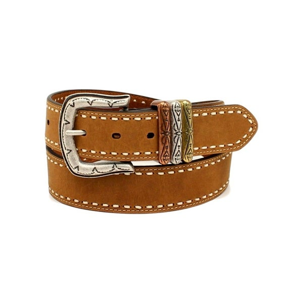Ariat Western Belt Womens 3 Keepers Lacing Leather Brown