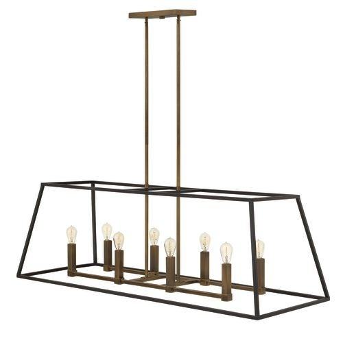 Hinkley Lighting 3338 8 Light Indoor Full Sized Chandelier from the Fulton Collection