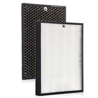 Alexapure Breeze Replacement Filters - 1 True HEPA Filter and 1 Carbon