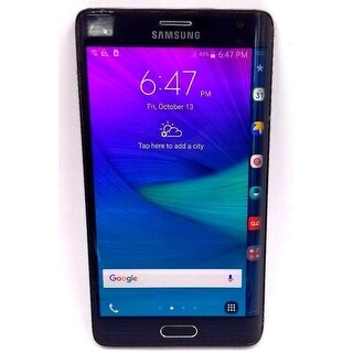 Samsung Galaxy Note Edge - Verizon/Unlocked - 32GB - Black - Refurbished