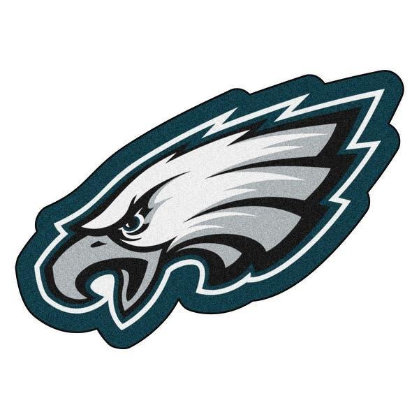 Nfl Philadelphia Eagles Mascot Novelty Logo Shaped Area Rug N A