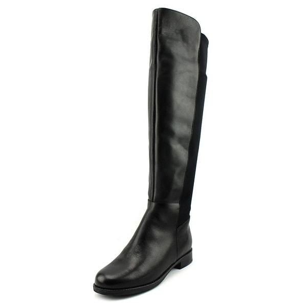 Aldo Dyanna Women Round Toe Leather Black Knee High Boot