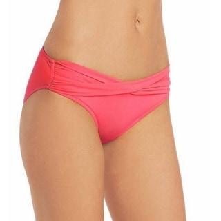 Seafolly NEW Pink Hot Women's Size 14 Twist Bikini Bottom Swimwear